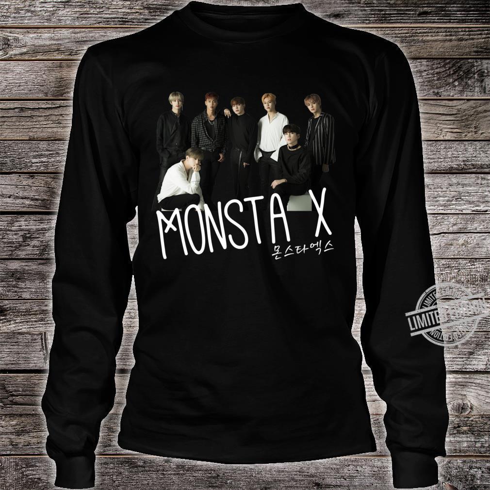 Monsta X ????? Classic Shirt long sleeved