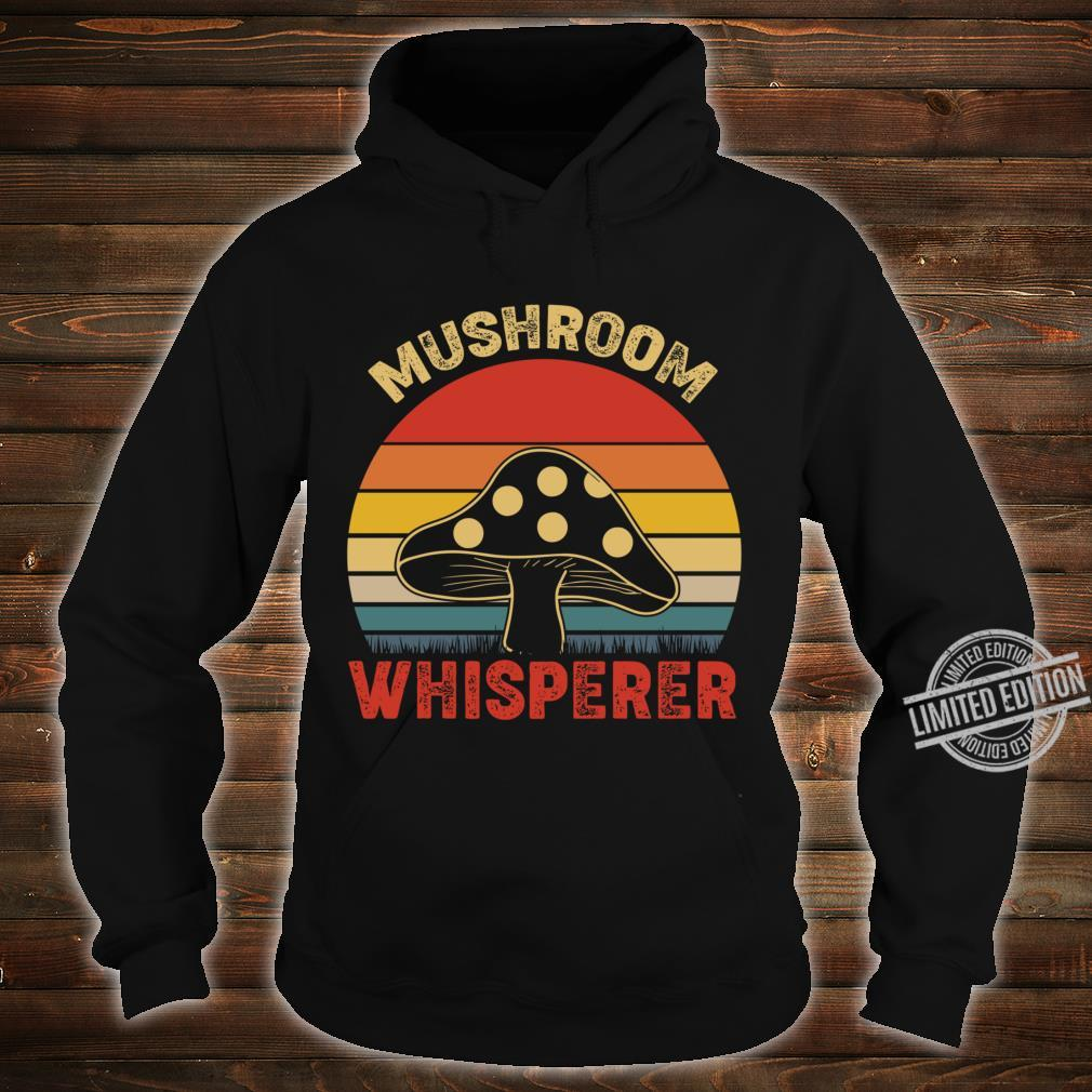 Mushroom Whisperer Vintage Lightweight Shirt hoodie