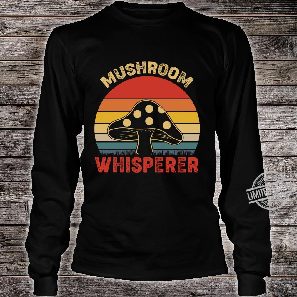 Mushroom Whisperer Vintage Lightweight Shirt long sleeved