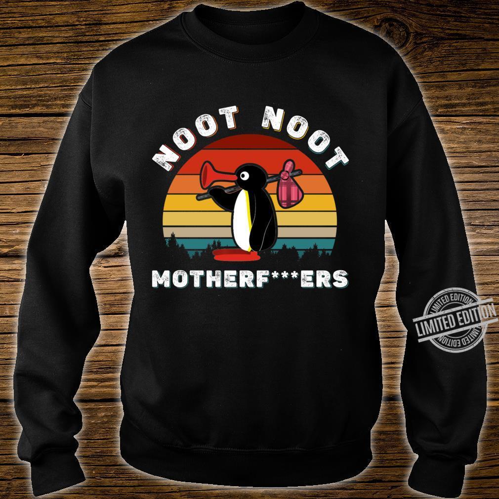 Noot Noot Pingu Shirt Noot Meme, Pingu Noot Noot Motherf Classic Shirt sweater