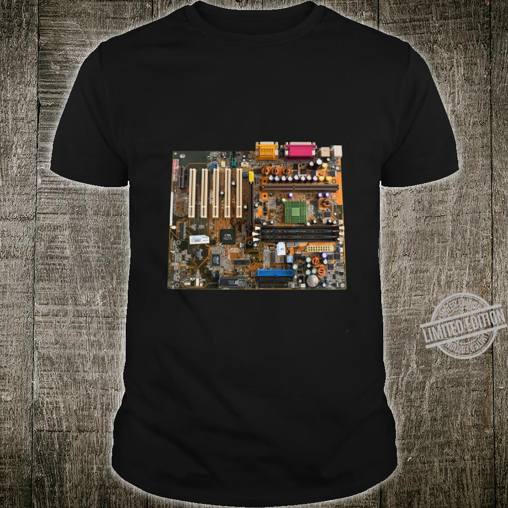 Old computer motherboard isolated Shirt