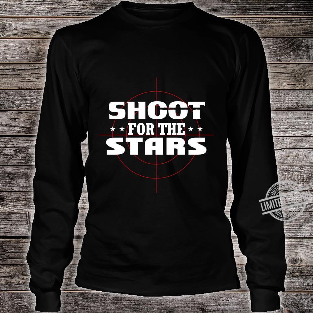 Shoot for the stars Lightweight Shirt long sleeved